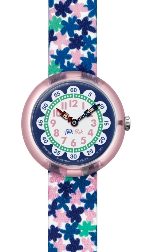 Flik Flak london flower kinderhorloge