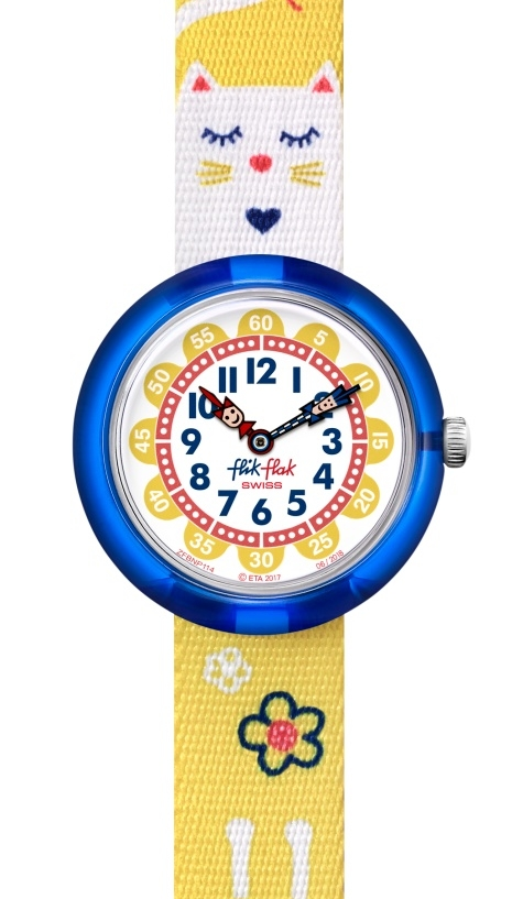 Flik Flak jumping cat kinderhorloge